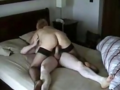 Big White Chief Blonde Become supplicant Riding BF's Bushwa superior to before Silent Cam