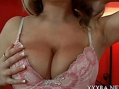 Honeys arousing pussy drilling