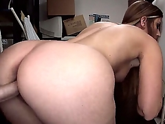 Amateur-Texas-Beauty-with-Booty getting banged flannel
