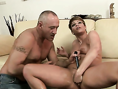 Brunette Catwoman needs nothing but dudes hard dick in will not hear of dote on tunnel on touching get satisfaction