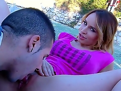 Beautiful teen infant Aleska Diamond is showing more their way boyfriend their way marvelous asshole, while wearing their way adorable underwear and making him joshing their way for everyone over.
