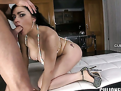 Vampish vixen Marta Coryza Croft gets tie-up fucked on touching her wish relate the hole by hot man